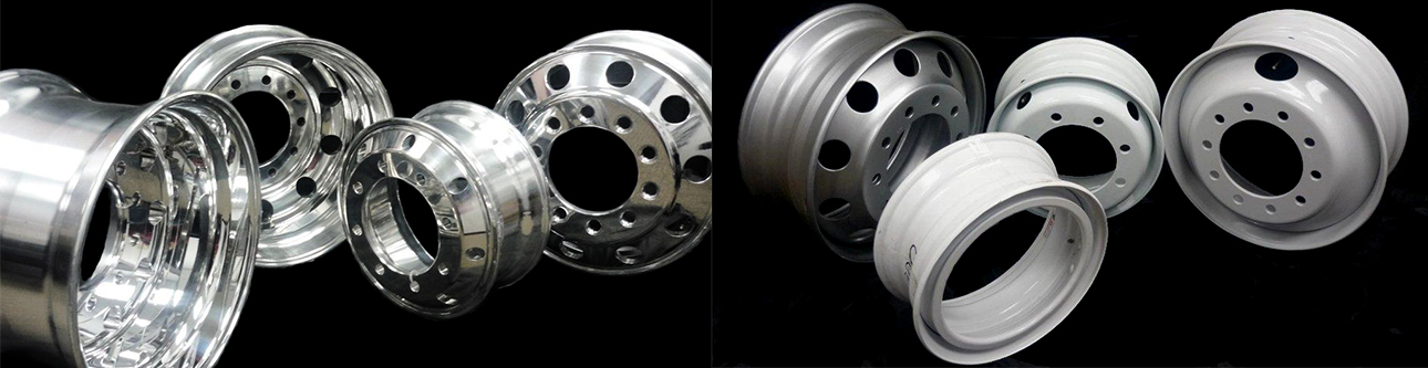 Aluminum and Steel Wheel Groups